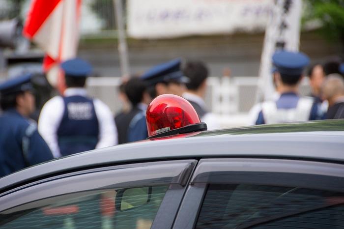 パトカーと警察