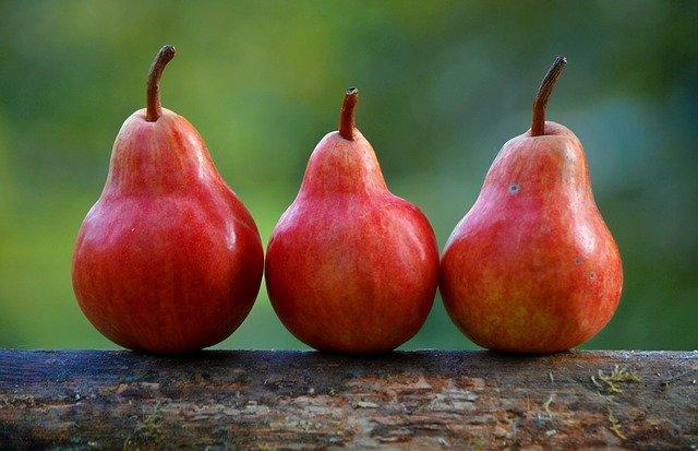 3つの果物
